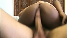 Winsome slut Blatina gets involved in terrific fucking with white male