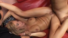 Slutty wife Chelsea adores being boned as her husband watches