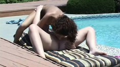 Sweet girl likes having lesbian sex with her well-endowed love-mate