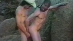 Horny cowboys bring their sexual desires to fruition in the outdoors