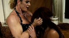 Dirty slave Donita takes as much abusive punishment as she can handle