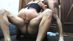Intense double pounding is what that blonde hooker desires above everything
