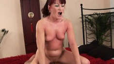 Esmeralda is feeling a little 'thorny and gets a younger dude to bang her