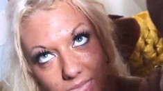 Lustful babes get together with a bunch of horny guys for a wild orgy