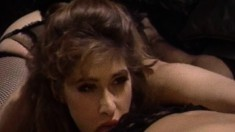 Horny brunette can't wait to taste her sexy girlfriend's creamy muff