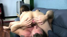 Ibuki Harushi receives a rough anal pounding she won't forget so soon