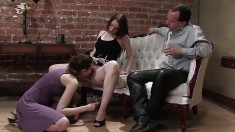 Nerdy schoolgirl Rita Seagrave feeds her overwhelming desire for piss