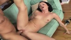Frisky Alexa Von Tess enjoys having her lovely ass slammed hard