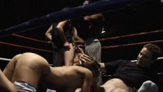 Alexandra Silk and Lola put their oral skills to the test in the ring