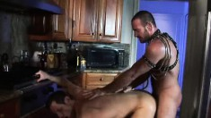 Ty Hudson can't get enough of Matthew's hard stick punishing his ass