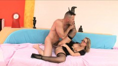 Colette Keeps Her Glasses On While Butt Fucking And Then Sucks Him Off
