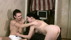 Talma puts her lovely body on display and gets pounded deep by Hardy