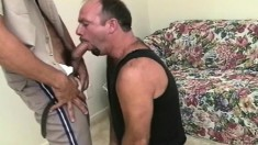 Cops Catch The Bad Guys And Make Them Suck Dick And Have A Blowbang