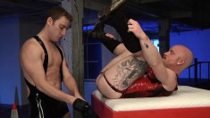 Anal-yearning Stud Gets His Ass Fisted And Returns The Favor