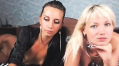 Hot lesbian amateur milfs toying each other