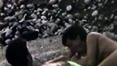 Beach Voyeur Films Amateur Oral Sex