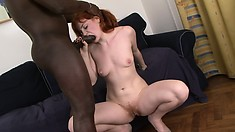 Amateur redhead wife interracial cuckold
