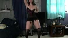 Super Hot Girl Performing Strip Dance