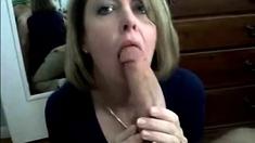 Mature Mom Sucks Monster Cock