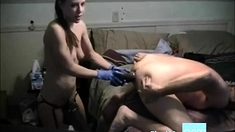 Chic Fists & Sticks Monster Cock Up Old Guys Ass