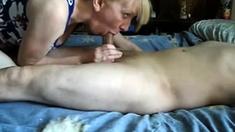 Mature Wife Handjob And Cum Swallow-cfnm