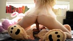 Tess Funny Amazing Babe Toying