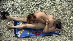 Voyeur On Public Beach Cook Jerking And Oral Sex Stimulation