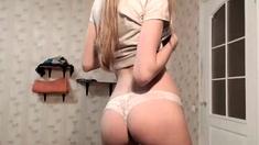 Fetish Masturbation From Cute Blonde Teen