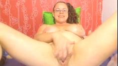 Webcam - Colombian granny Milf teasing Part 2 (no sound)