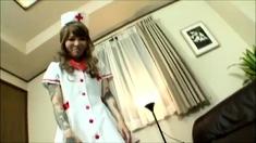 Japanese femdom Asuka bdsm spit and boot fetish CFNM